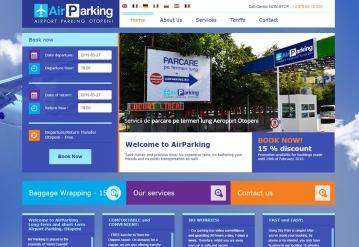 Portofoliu Program CRM de administrare parcare privata - AirParking
