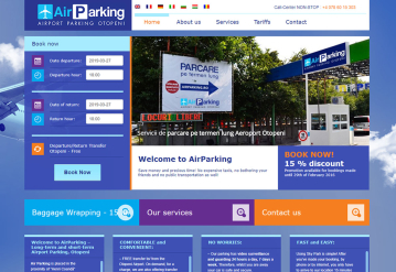 Portofolio Private parking management software CRM - Skyparking
