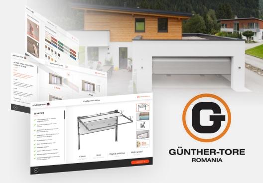 Garage doors configurator - Gunther TORE