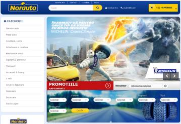 Portofoliu Realizare magazin online piese auto - Norauto