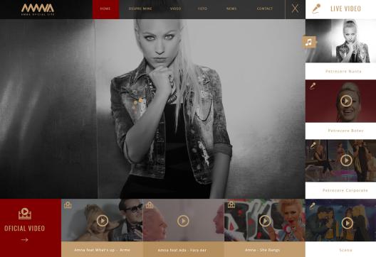 Website Music & Video - AMNA