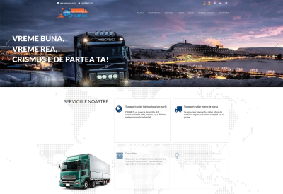 AppMotion | Software Development Company Website for Transport Company - Crismus