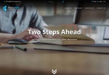 Portofoliu XFactorApp - Website de Prezentare Servicii Programare
