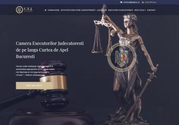 Portofolio Website & Web App - CEJ Bucharest