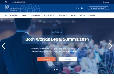 AppMotion - Aplicatii WEB&Mobile | Servicii Software | Custom Platforma web pentru administrarea si sustinerea partenerilor italieni din Romania - Confindustria