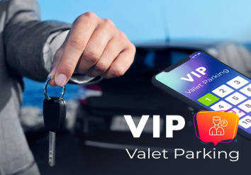 Portofolio Valet Parking - Mobile app for managing cars at various events
