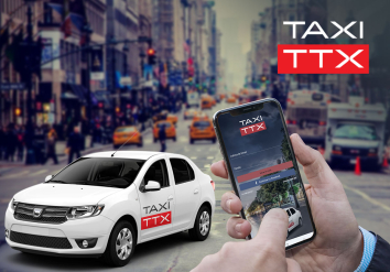 Portofolio Mobile app for ordering a taxi online - Taxi TTX