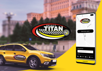 AppMotion | Software Development Company Mobile Android & iOS app for ordering a taxi - TAXI TITAN