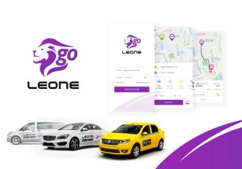 Portofolio LeoneGo - iOS & Android Ridesharing Mobile App