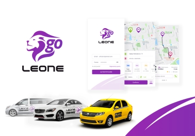 AppMotion | Software Development Company LeoneGo - iOS & Android Ridesharing Mobile App
