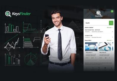 AppMotion - Aplicatii WEB&Mobile | Servicii Software | Custom KeysFinder - Aplicatie Mobile pentru verificarea in timp real a informatiilor despre companiile din Romania