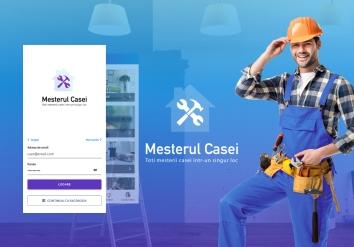 Portofoliu Mesterul Casei - Aplicatie Mobile Android si iOS Listare Anunturi
