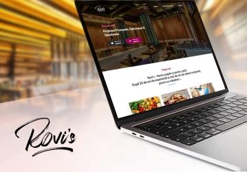 Rovi`s Bar - Landing Page de prezentare Aplicatie Mobile